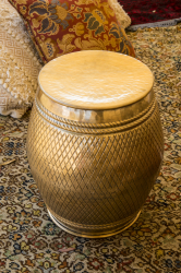 Gold Brass Moroccan Side tables