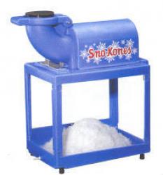 Sno Cone Machine W/50 servings
