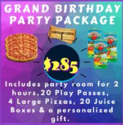 Grand Birthday Party Package