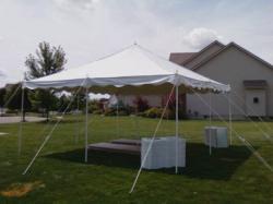 20'x20' Pole Tent
