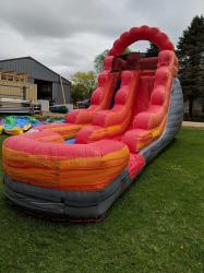 15' Fire Water Slide
