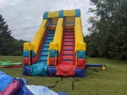 Giant Double Lane Slide