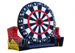 Giant Soccer Dart Board