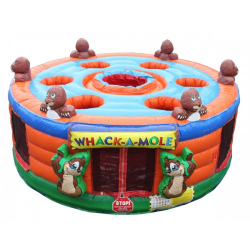 Human Whack A Mole (7 Player Game)
