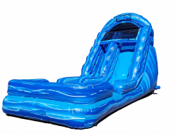 18ft Blue Marble water slide