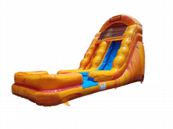 18ft Fire and Ice water slide
