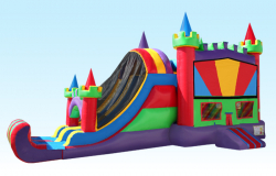4 in 1 Multi Color Castle Combo 25Wx15L