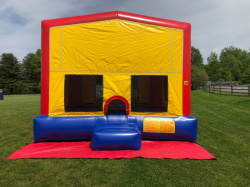 Red Module Bounce House 15x15