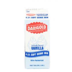 Soft Serve Ice Cream Vanilla mix 64oz(1/2 gallon)