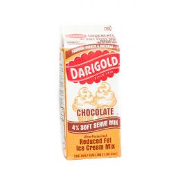 Soft Serve Ice Cream Chocolate mix 64oz(1/2 gallon)