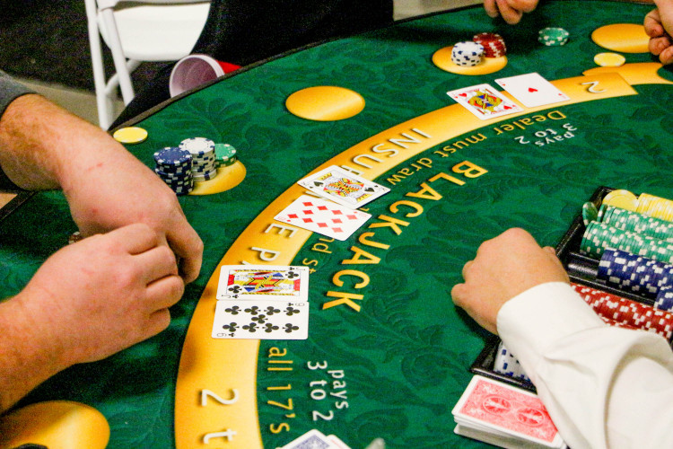 #1 casino party
