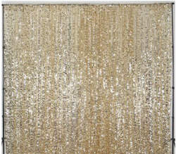 Backdrop - Champagne Gold Sequins