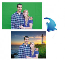 Photo Green Screen Package