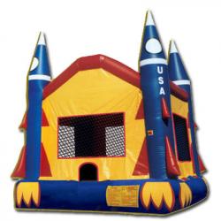 Rocketship Bounce House
