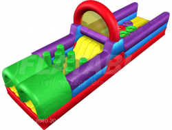 Wacky Pre School Obstacle Course 30'