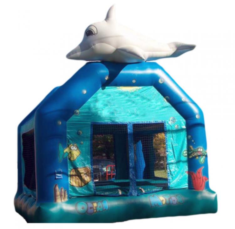 Ocean Bounce House - Roo Jumps