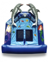 Mermaids and Dolphins Bounce House