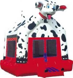 Dalmatian Bounce House