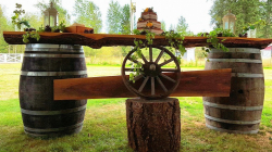 Barrel Bar/ table
