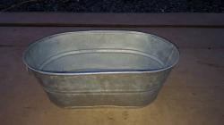 Galv. Buckets- Medium Oval