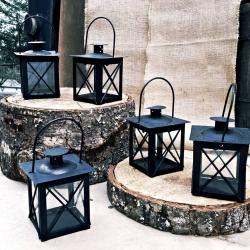 Lanterns- small black square