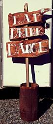 Sign- Eat, Drink, Dance