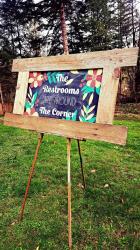 Chalkboard- Large barnwood frame