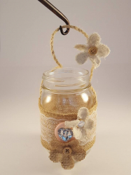 Lanterns- Pint hanging jars