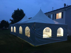 Tent Lighting per tent