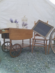 Furniture- Vintage Tea Cart