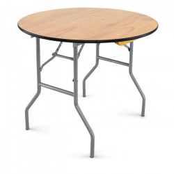 """36 inch round plywood folding table 12 2 1626271120 Table- 36"""" Round table"""