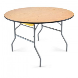 """48 inch round plywood folding table 10 1626271551 Table- 48"""" Round table"""