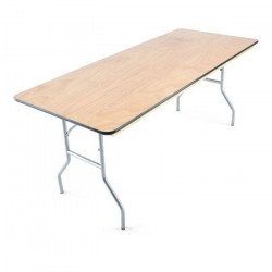 6x30 plywood folding banquet table 5 1626270810 Table- 6' wooden Banquet