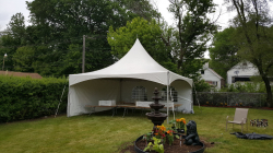 Tent- Solid wall- 20' increments