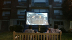 Outdoor Movie Party – Inflatable TV