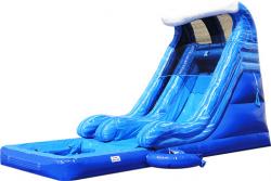18' Tidal Wave Slide w/Pool