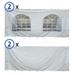 20x20 standard vinyl sidewall kit img 3 1611155250 40' x 40' Tent