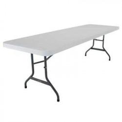White Lifetime table 2' x 8