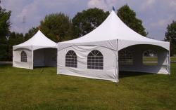 20 x 20 Matrix Marquee tent with side walls