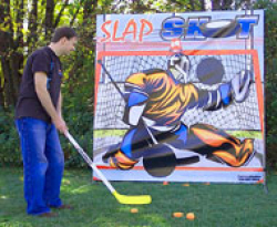 Slap Shot Hockey Carnival Frame Game