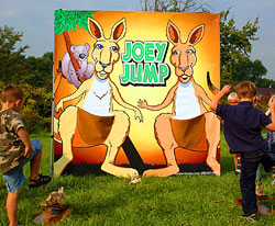 Joey Jump Carnival Frame Game
