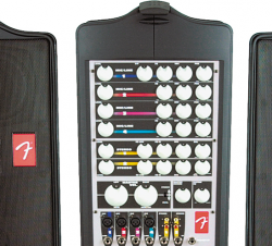PA System with mic and cable for music port