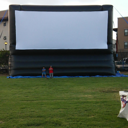 60ft OUTDOOR MOVIE SCREEN