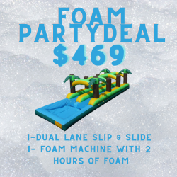 ZF1 Foam Party & Slip and Slide