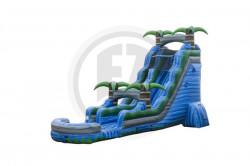 22 ft blue crush water slide ws342 ip ezinflatables 27ft Blue Crush - S21