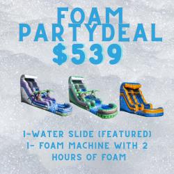 ZF2 Foam Party & Slide