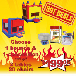 Z01 Bounce House Deal