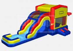5-1 Bouncer water slide combo