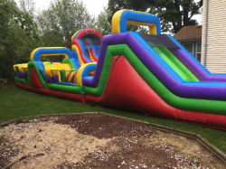 60' Retro Obstacle Course