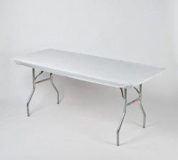 Kwik-covers- 8 ft tables (white only)